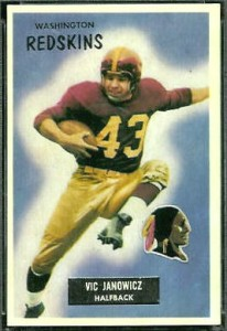 133_Vic_Janowicz_football_card