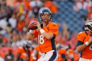 Peyton Manning rozdawał w tym roku piłki jak chciał...