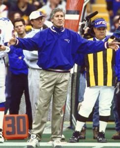 W latach 1997-1999 nie potrafił rozpędzić machiny, jaką są New England Patriots