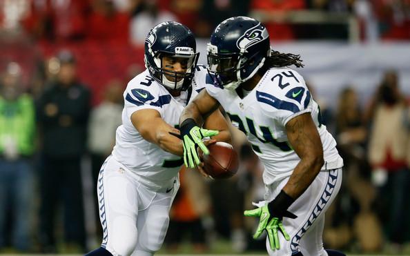 W ataku Seahawks zawsze mogą liczyć na duet Wlson-Lynch