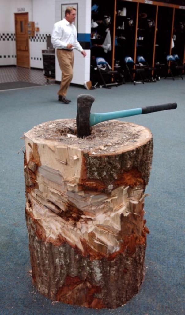 """""""Keep chopping wood"""" wzbudziło wiele kontrowersji, ale stało się też symbolem siły Jacksonville Jaguars"""