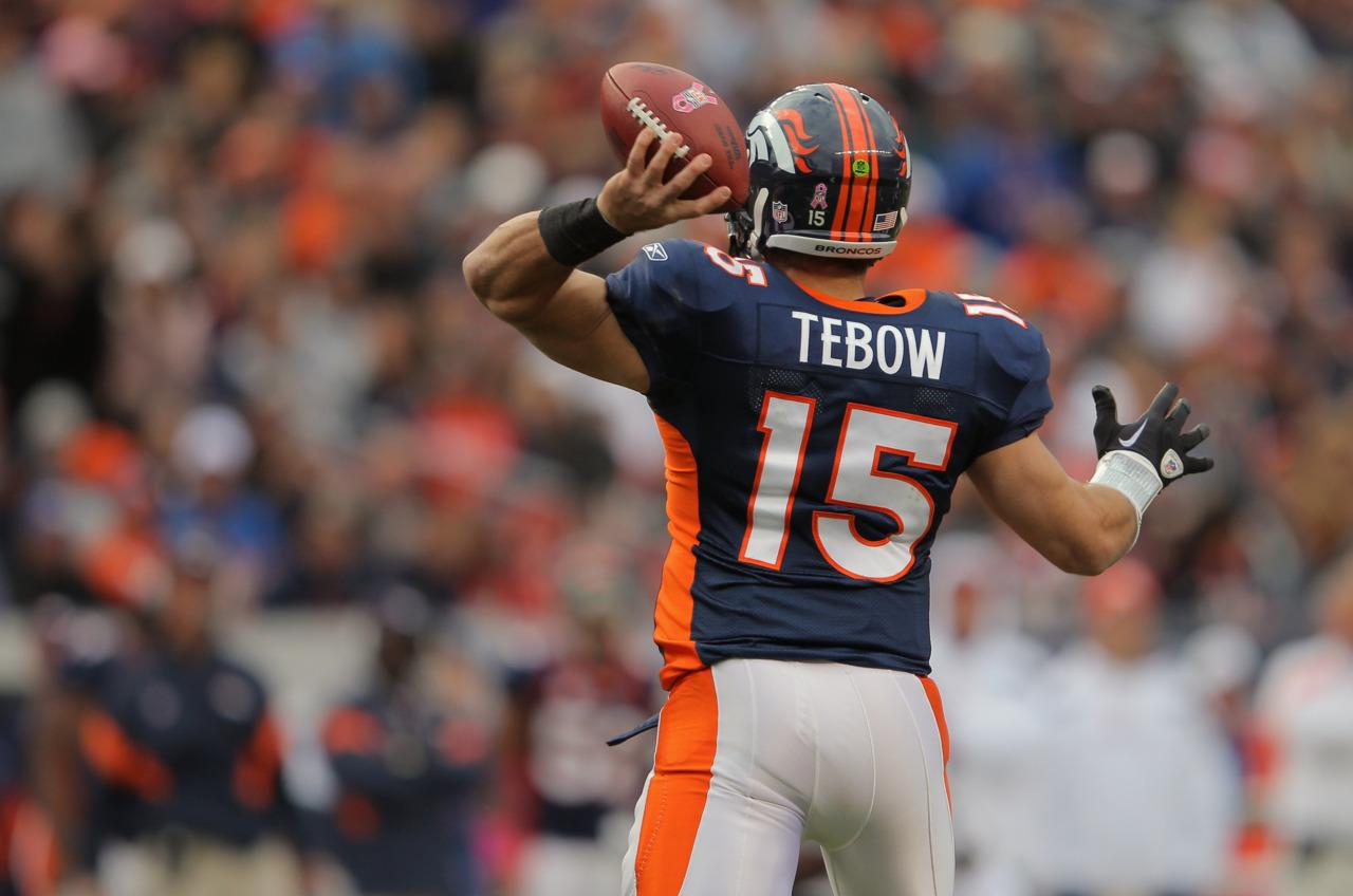 Tim Tebow w Denver posmakował prawdziwego życia gwiazdy