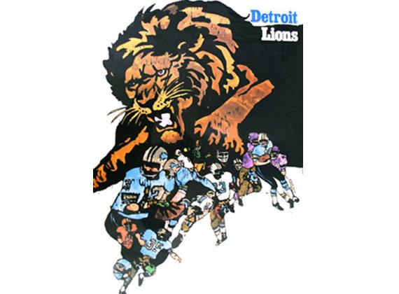 Jeden z pierwszych plakatów zespołu Lions