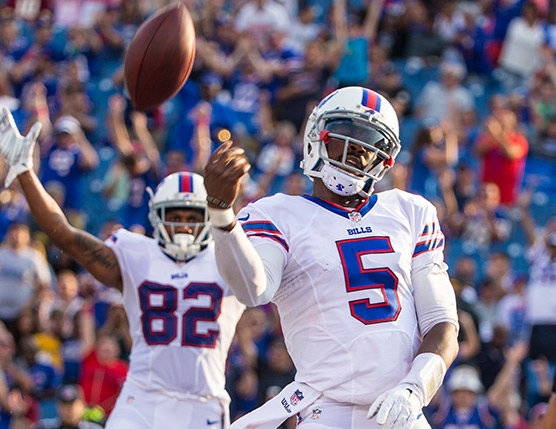 Czy powrót do gry Tyroda Taylora będzie kluczem do zwyzięstwa Bills nad Dolphins?