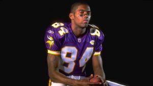 Wspominany Randy Moss w barwach Minnesota Vikings / fot. Sporting News