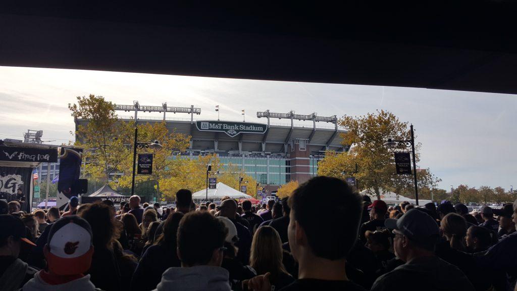 stadion widok z ravens walk